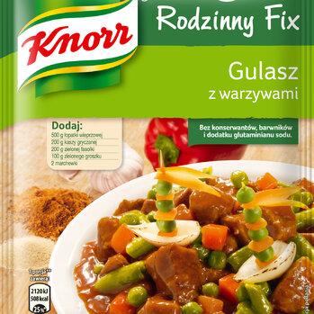 Zdjęcie: Nowość!  Fixy Rodzinne Knorr – rodzinnie, warzywnie i bardzo smacznie!