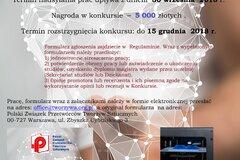 Konkurs PZPTS na najlepszą pracę dyplomową z zakresu tworzyw sztucznych