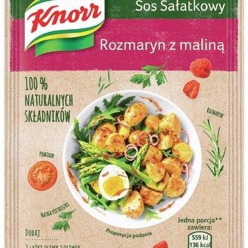 Zdjęcie: NOWE sosy sałatkowe Naturalnie smaczne! Knorr - Grecki z suszoną czerwoną papryką oraz Rozmaryn z maliną