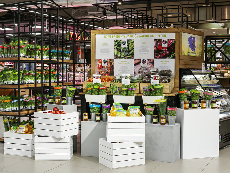 """Nowe produkty """"Jakość z Natury Carrefour"""""""