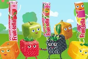 Siła przyjaźni w piosence Fruittella