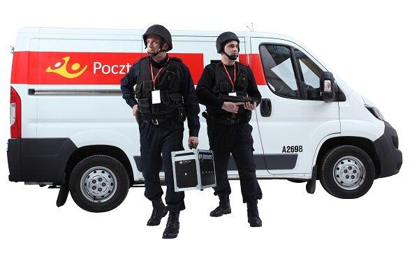 Poczta Polska Ochrona rocznie konwojuje miliardy złotych