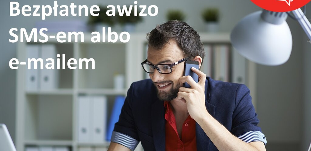 Poczta Polska: Powiadomienie sms zamiast papierowego awizo