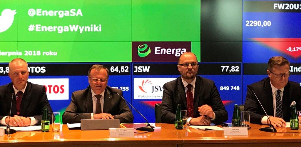 Wzrost EBITDA i zysku netto Grupy Energa w I półroczu 2018 roku