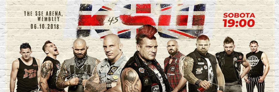 KSW wraca na Wembley! Obejrzyj transmisję z gali