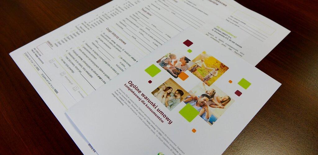 Energa upraszcza dokumenty dla klientów