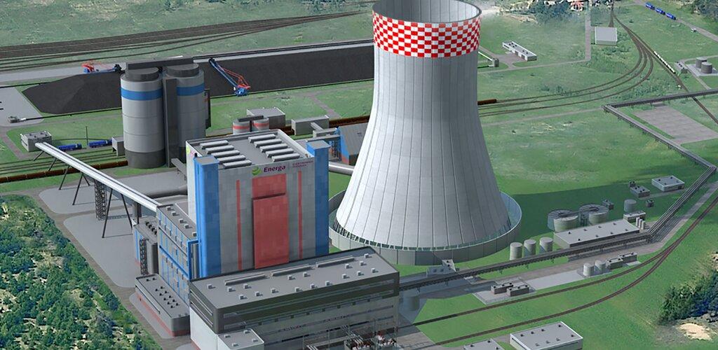 Reper startowy i pierwsza łopata na placu budowy Elektrowni Ostrołęka C