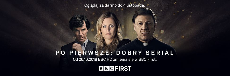 W październiku witamy nowy kanał - BBC FIRST!