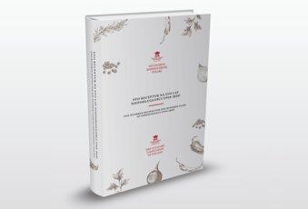 """Książka """"Sto receptur na sto lat niepodległości"""" z okazji setnej rocznicy odzyskania przez Polskę niepodległości"""