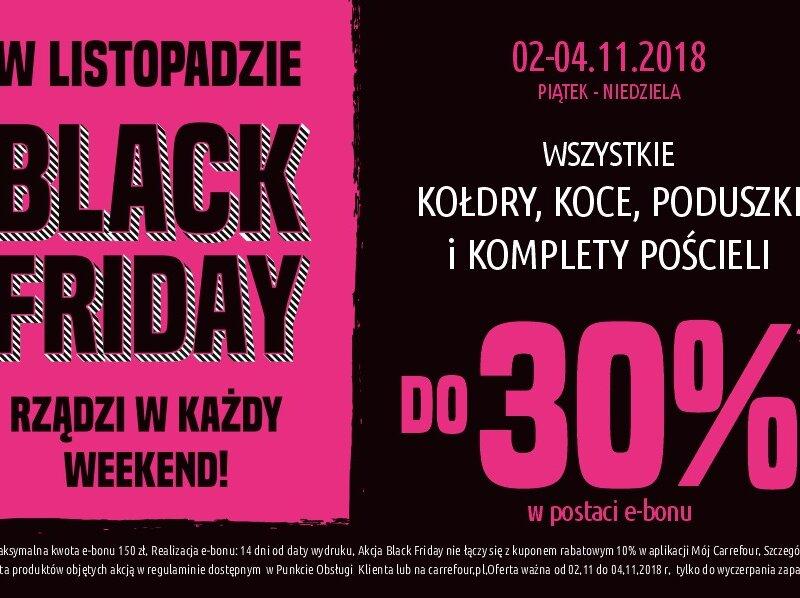 Black Friday w Carrefour Polska trwa przez cały listopad!