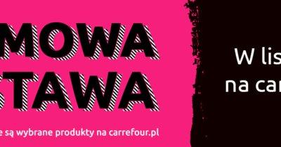 Ponad 20 tysięcy produktów z darmową dostawą w listopadzie na Carrefour.pl