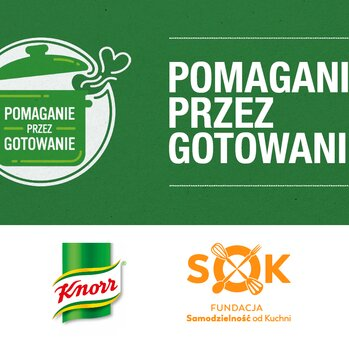 Zdjęcie: Pomaganie przez gotowanie - Knorr i Fundacja Samodzielność od Kuchni we wspólnej akcji dla wychowanków domów dziecka