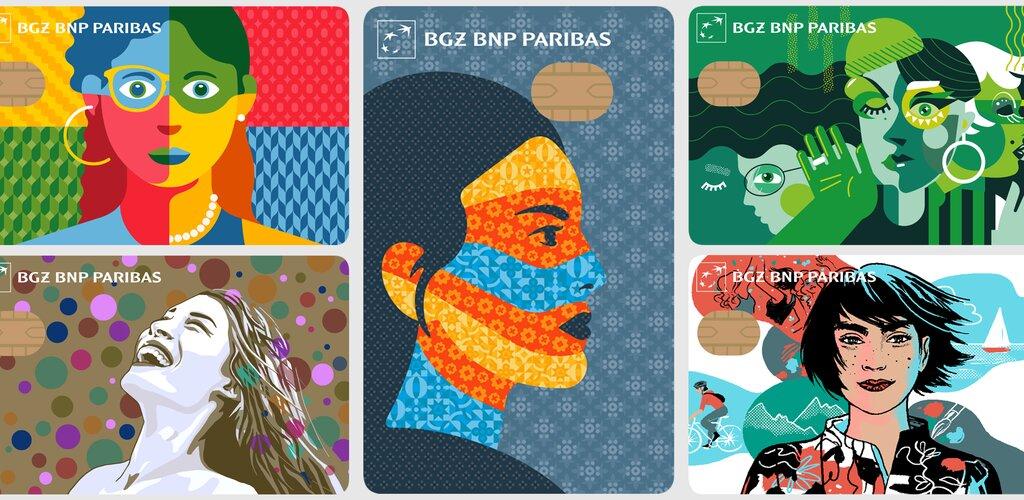 Wybierz projekt karty płatniczej z Bankiem BGŻ BNP Paribas