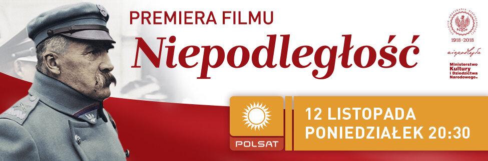 """Już w poniedziałek premiera filmu """"Niepodległość""""!"""