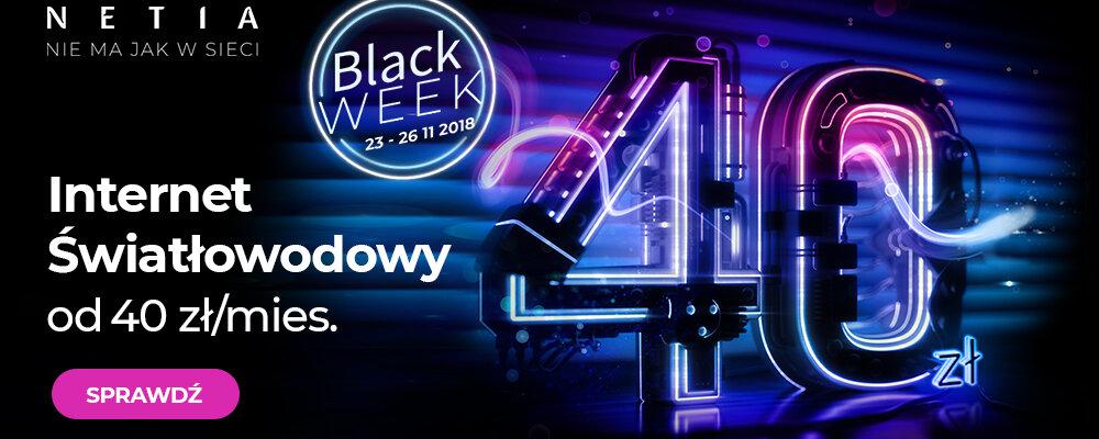 Black Friday w Netii – nternet za mniej niż 40 zł!