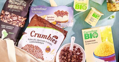 Carrefour zmniejsza ilość plastiku w opakowaniach marki własnej - pierwsze produkty na półkach w Polsce