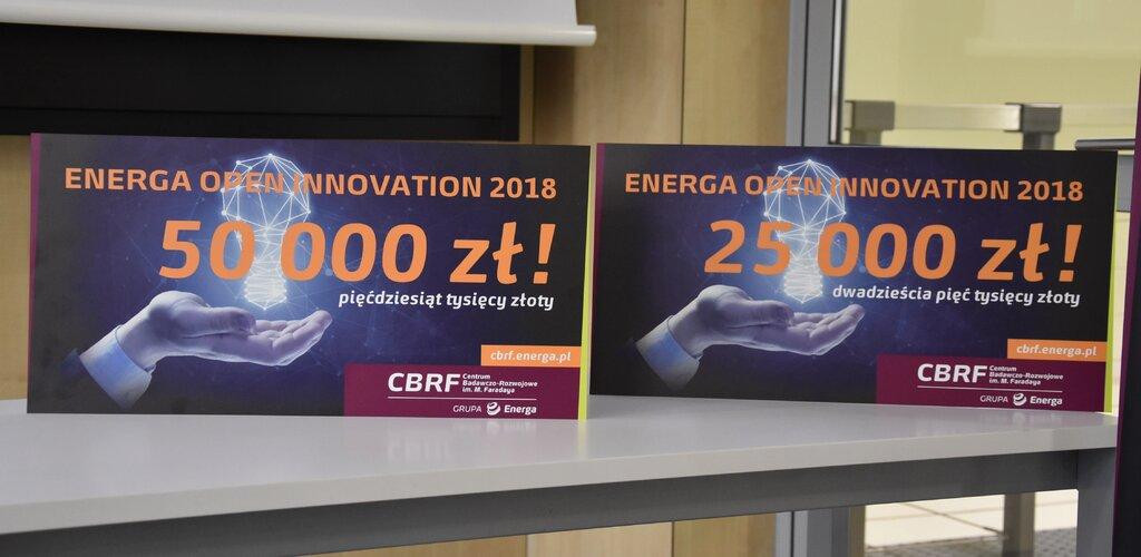 Nagrody w konkursie Energa Open Innovation 2018 wręczone