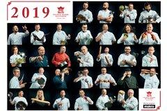 MAKRO Polska wydało kalendarz z portretami czołowych szefów kuchni