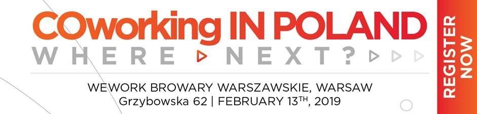 """Cushman & Wakefield zaprasza na konferencję """"Coworking in Poland – What's Next?"""""""