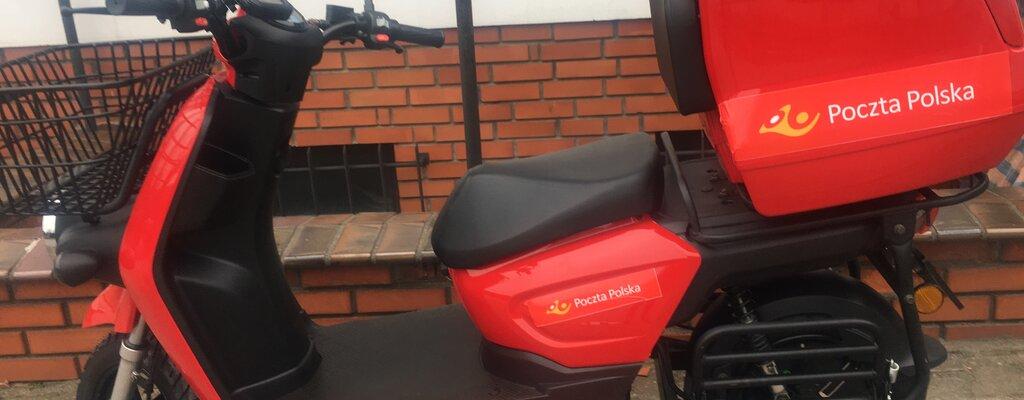 Poczta Polska testuje elektryczne rowery i skutery dla listonoszy
