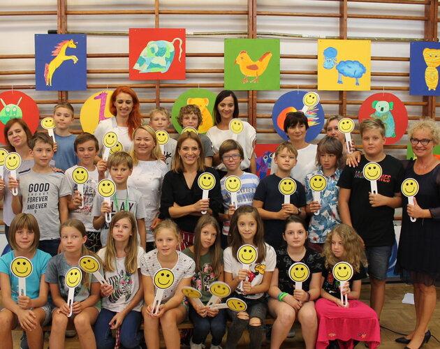 Wyjątkowa lekcja empatii z Anną Dereszowską, ambasadorką Stowarzyszenia SOS Wioski Dziecięce