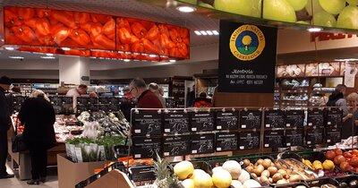 Supermarket Carrefour w Galerii Korona
