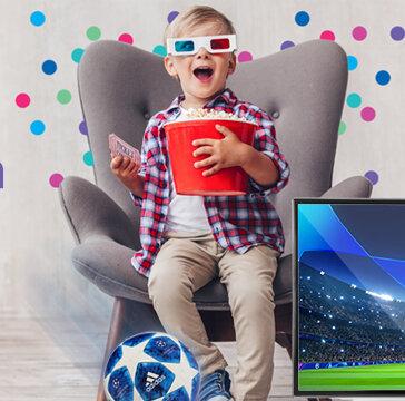 Netia: nowe pakiety internetu z telewizją dla kibiców lub kinomaniaków