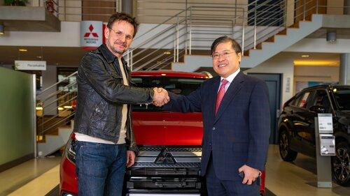 Bartłomiej Topa nowym ambasadorem marki Mitsubishi w Polsce!