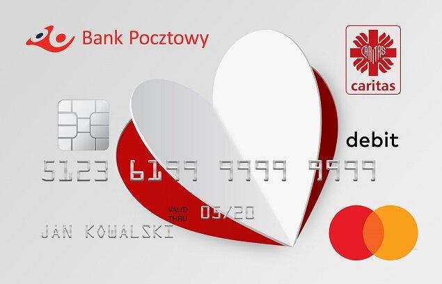 Pomagasz jak nigdy, płacąc jak zawsze – Bank Pocztowy, Mastercard i Caritas wydają wspólną kartę