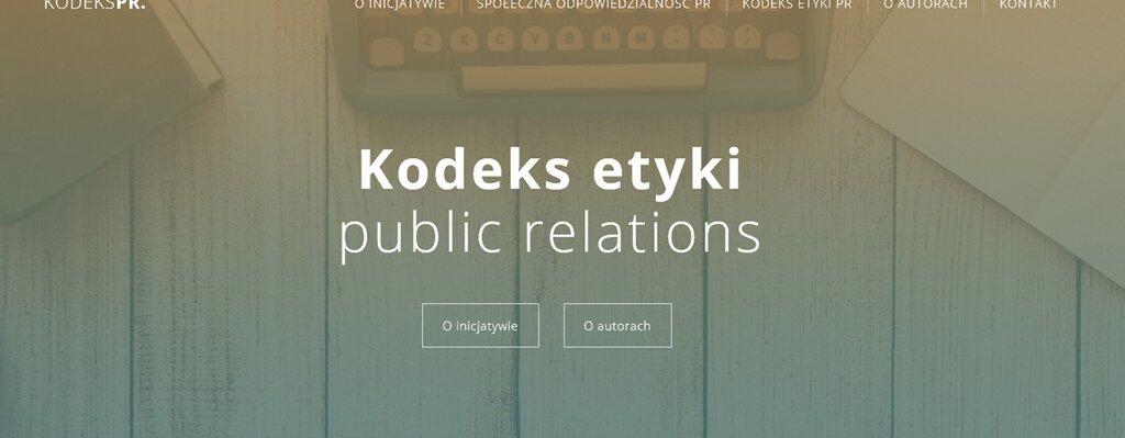 Prezes honorowy PSPR, Piotr Czarnowski i prezes ZFPR, Grzegorz Szczepański stworzyli propozycję nowego kodeksu etyki PR
