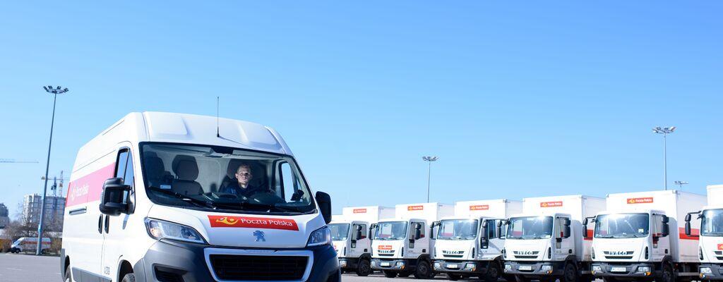 Poczta Polska rozwija flotę pojazdów i nowoczesne  usługi logistyczne