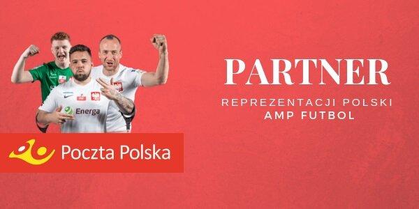 Poczta Polska Partnerem reprezentacji Polski Amp Futbol!