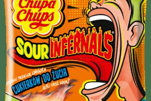 Kwaśna przygoda od Chupa Chups Sour Infernals
