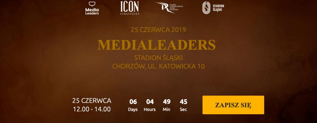 Media Leaders na Śląsku - specjalna pula wejściówek dla PSPR