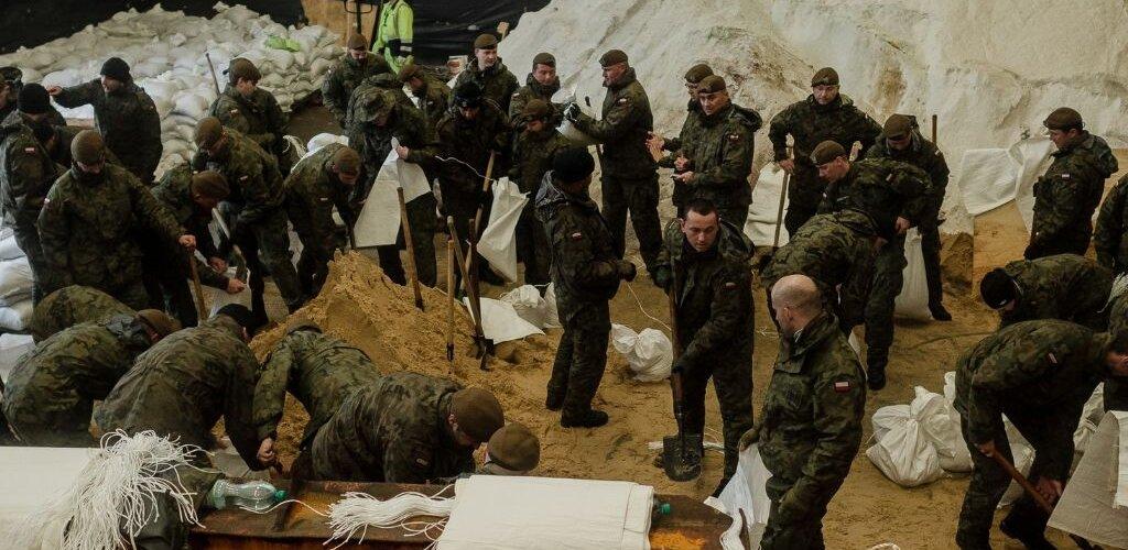 Aktualizacja działań żołnierzy Wojsk Obrony Terytorialnej  w usuwaniu skutków klęsk żywiołowych.  Stan na: 23 maja 2019 r., godz. 20.00