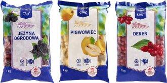 Owoce MAKRO Chef sygnowane programem  Polskie Skarby Kulinarne w halach MAKRO