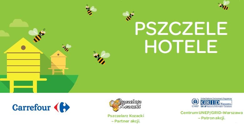 Carrefour otwiera hotele na dachu wrocławskiego hipermarketu… dla pszczół