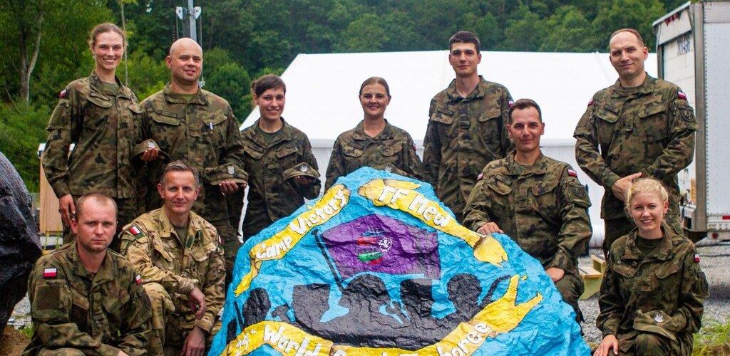 Terytorialsi zabezpieczający 24th World Scout Jamboree wrócili do kraju