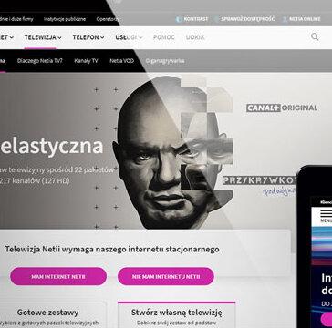 Nowa www.netia.pl – użytkownik w centrum uwagi