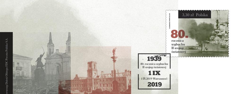 Poczta Polska uczci rocznicę wybuchu II wojny światowej znaczkiem pocztowym