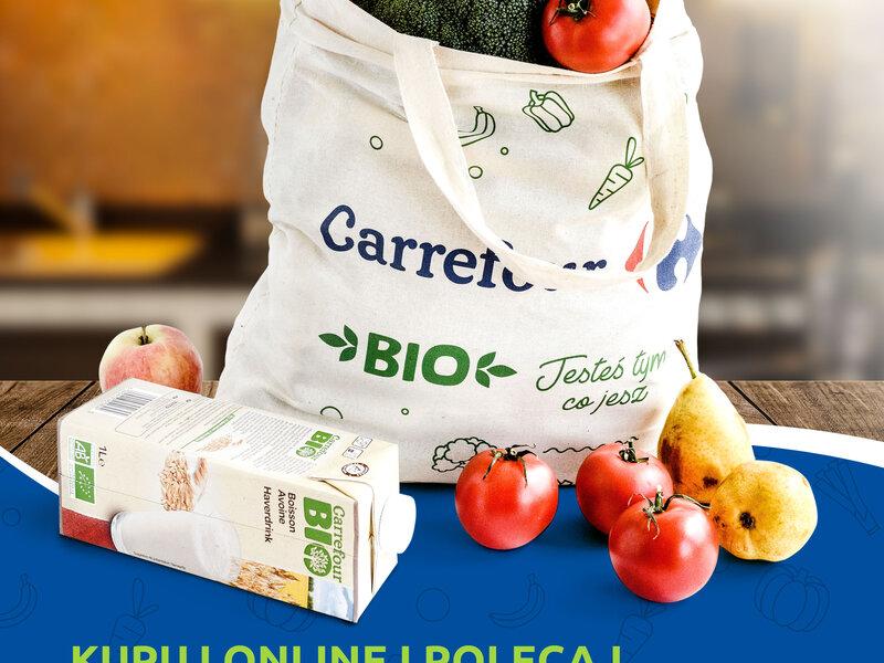 Carrefour wprowadza pionierski system poleceń do swojego  e-sklepu spożywczego