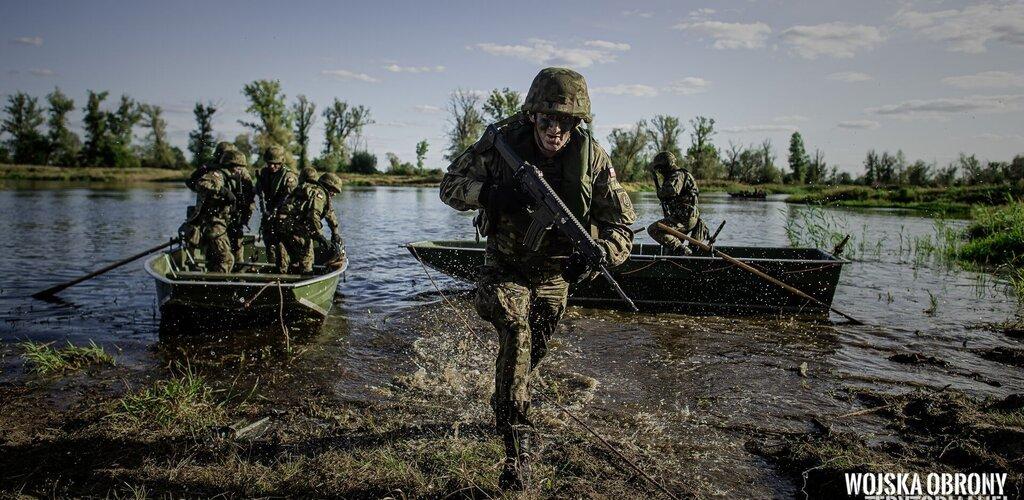 Szkolenie rotacyjne wielkopolskich terytorialsów