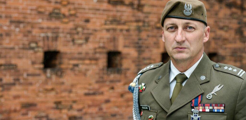 Dowódca 14 Zachodniopomorskiej Brygady Obrony Terytorialnej - płk Grzegorz KALICIAK