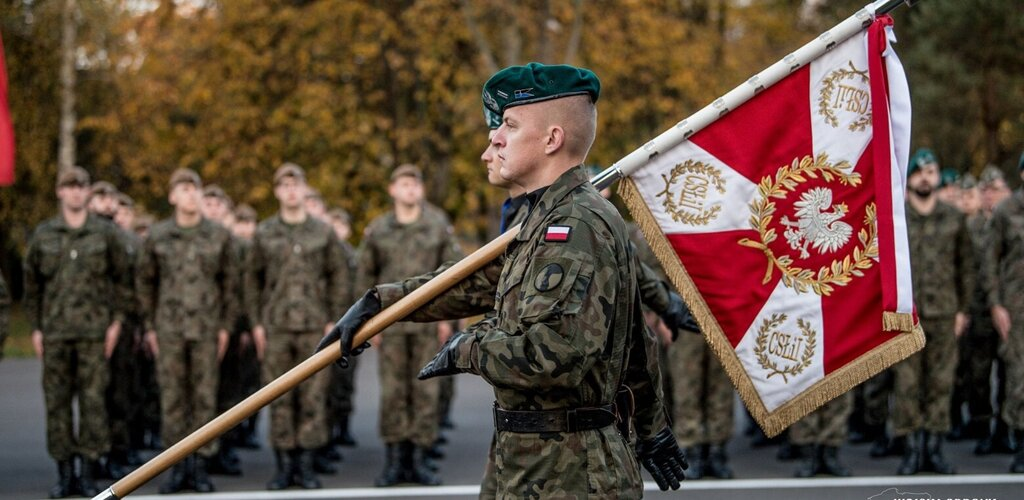 Wystąpienie Dowódcy WOT podczas Święta Wojsk Łączności i Informatyki