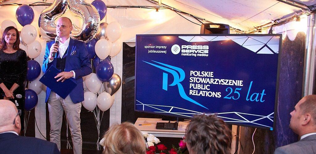 prof. Krystyna Wojcik gratuluje 25 - lecia PSPR (list)