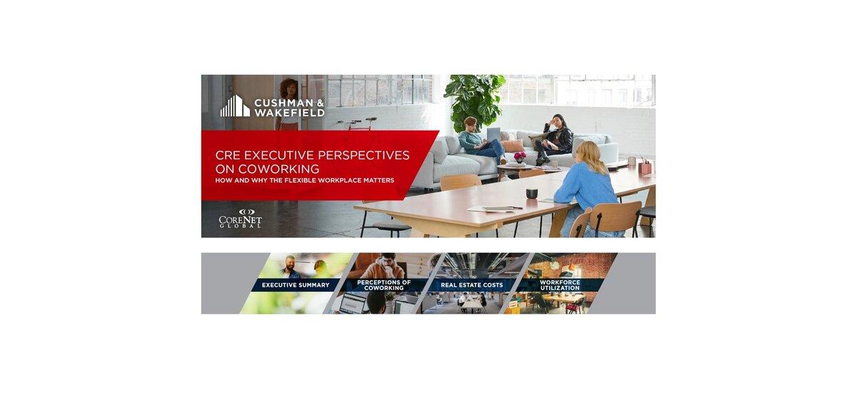Nowy raport Cushman & Wakefield: dyrektorzy CRE nadal doceniają zalety coworkingu