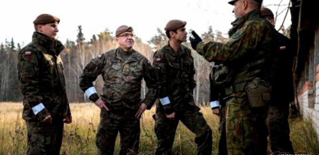 Suwalscy Terytorialsi na  międzynarodowych ćwiczeniach