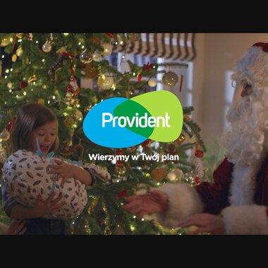 Provident Polska: świąteczna kampania z przebojem