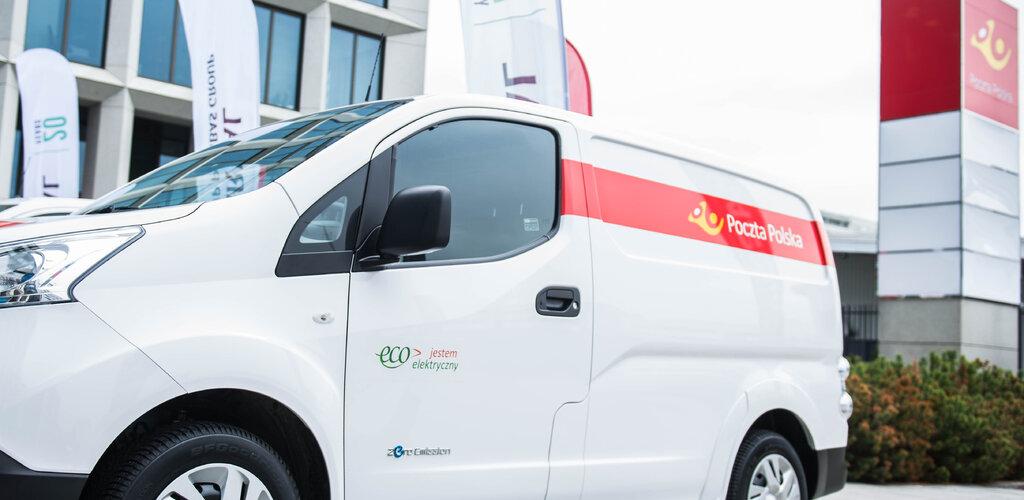 Poczta Polska stawia na elektromobilność. Do floty dołączają pierwsze dostawcze e-auta