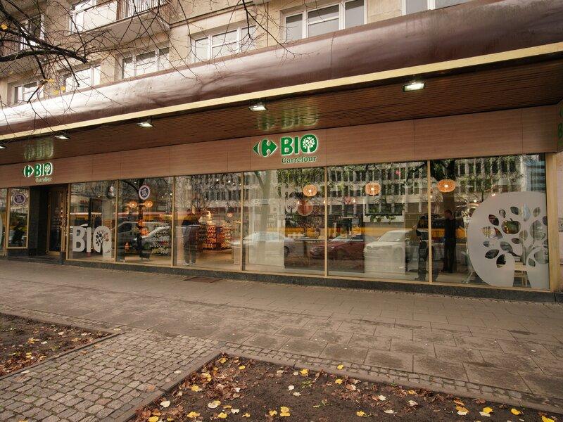 Otwarcie pierwszego w Polsce sklepu Carrefour BIO  w Warszawie
